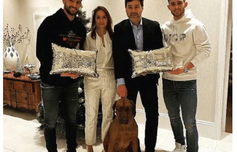 Fans Praise Mauricio Pochettino After Posting A Photo Of Himself And His Family