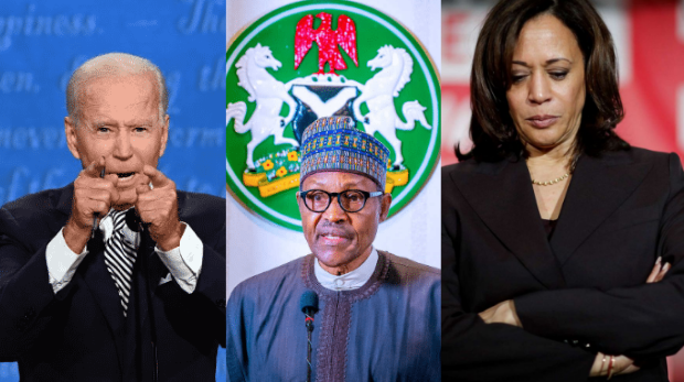 President Buhari Congratulates The New President And Vice President Of The US, Says They Are Looking Forward To Work With The New Government