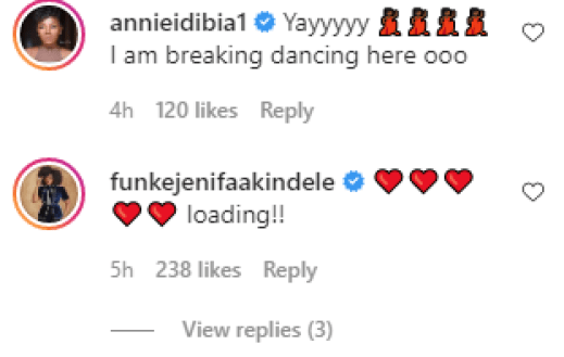 See The Reactions Of Dorathy, Toke Makinwa, Juliet Ibrahim, Other Celebrities, And Fans As Waje Set To Tie The Knot With Ric Hassani