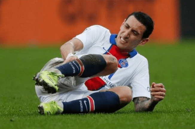 Di Maria Ruled Out Of Barcelona Champions League Clash Next Week