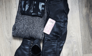 OOTD Black & Grey + Winactie