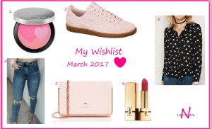 My Wishlist ♥ March 2017