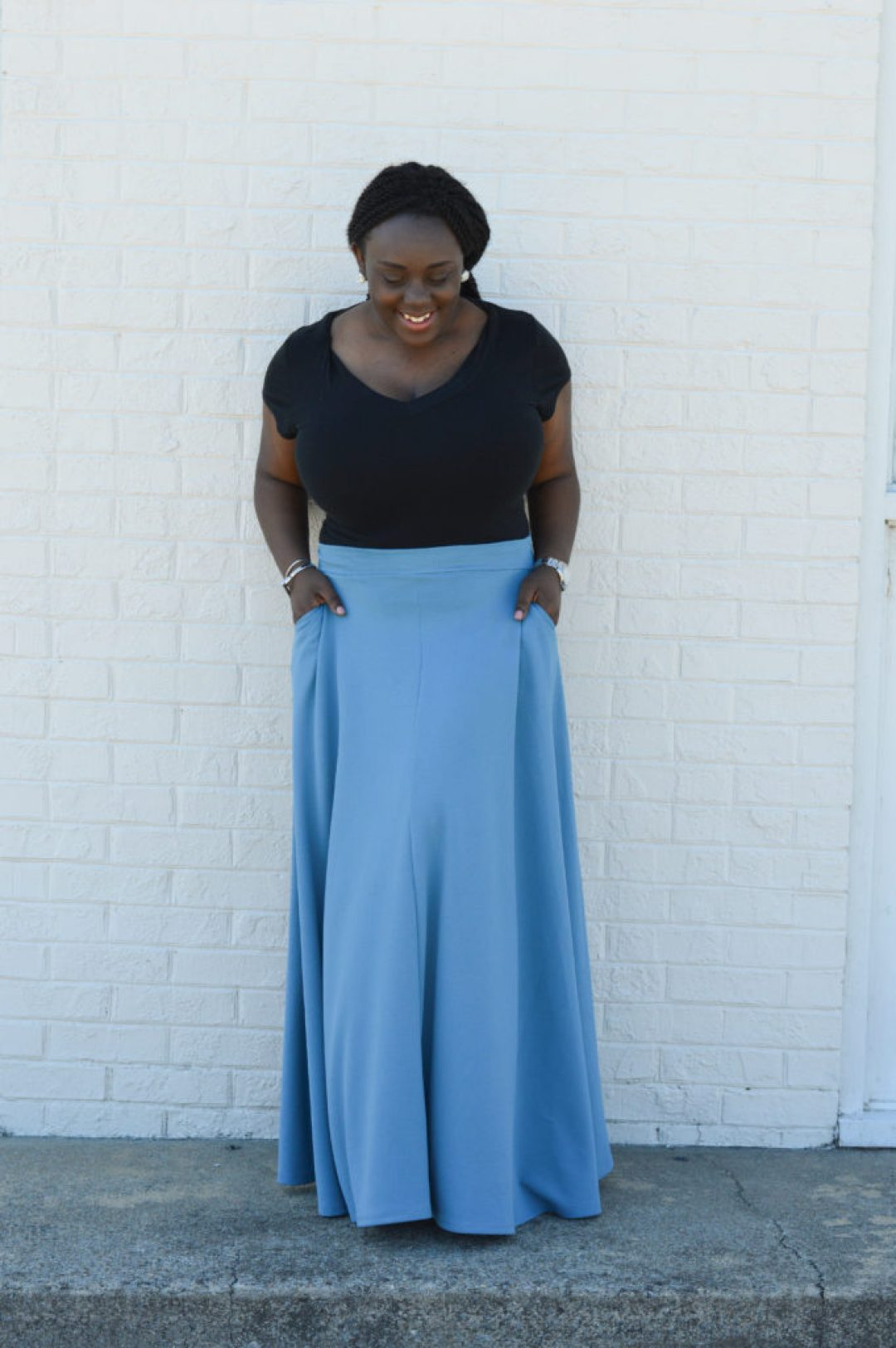 Styling Maxi Skirt in Spring