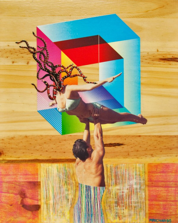 Untitled collage by Matthew Richards