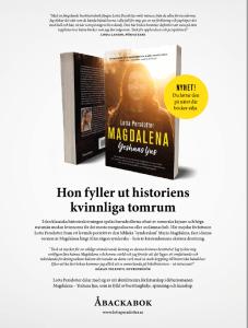 Annons för boken Magdalena - Yeshuas ljus