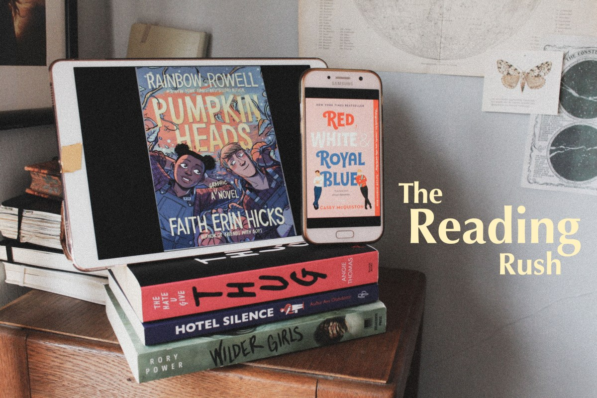 The Reading Rush 2020 TBR