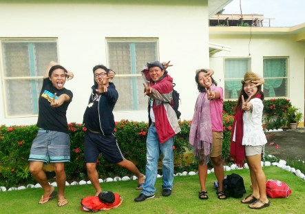 with kuya IAN! the best tour guide and photorgapher ever!