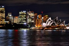 Took this shot in a ferry on the way back from Manly Beach to Sydney