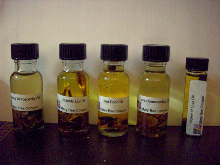 Ritual Oils, Conjure Oils, Hoodoo Oils Anointing Oils