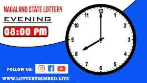Lottery Sambad Result Today 8pm Evening Nagaland State Dear Lottery