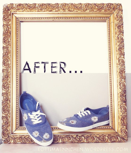 Shoes after