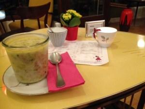Lottis Traum - Business Lunch mit saisonalen Suppen.