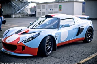 Lotus Exige Cup 260 Gulf