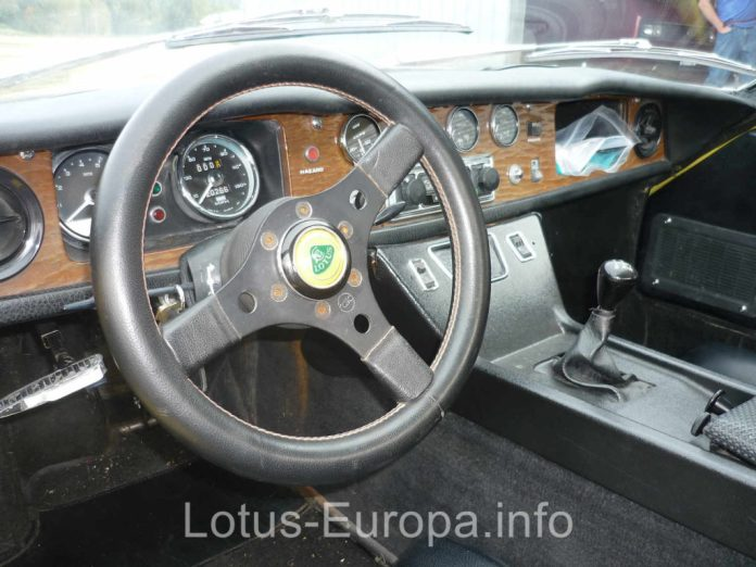 1970 Lotus Europa S2 interior