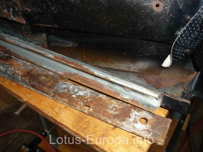Lotus Europa seat runners