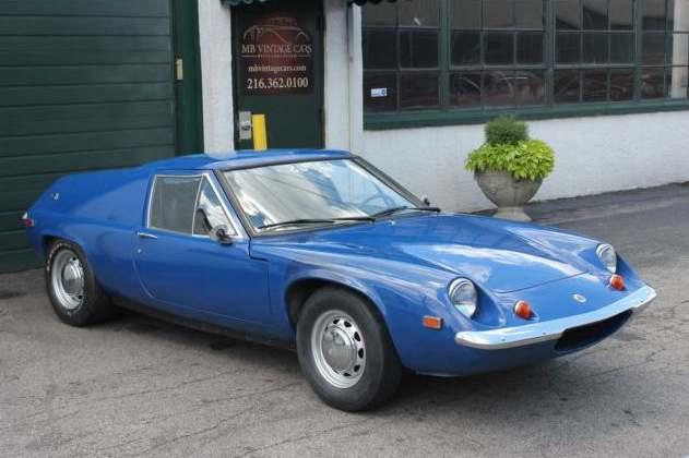 Lotus Europa blue