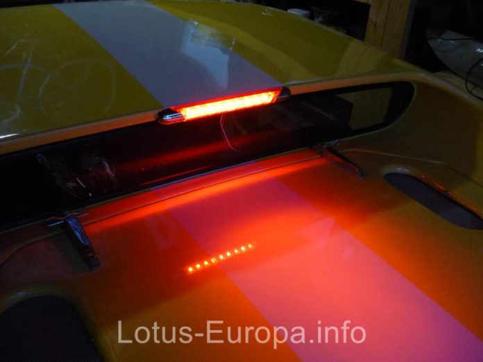 Lotus Europa Lit Third Brake Light