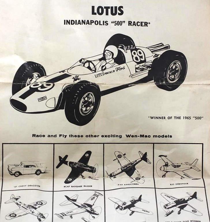 Lotus Indianapolis 500 Racer