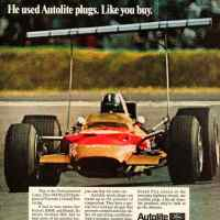 Graham Hill - 1968 Lotus 49B
