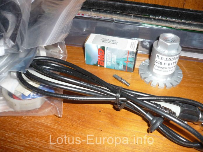 Lotus Europa parts