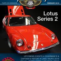 Vintage Car Club of New Zealand Lotus Europa