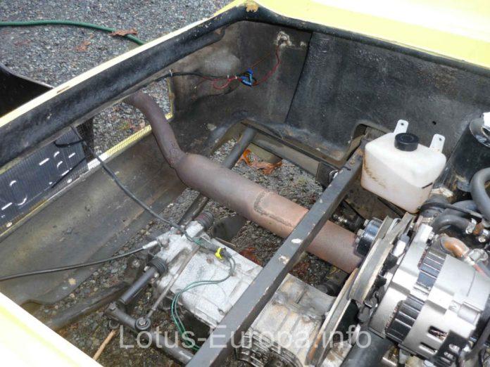 Rusty Lotus Europa exhaust
