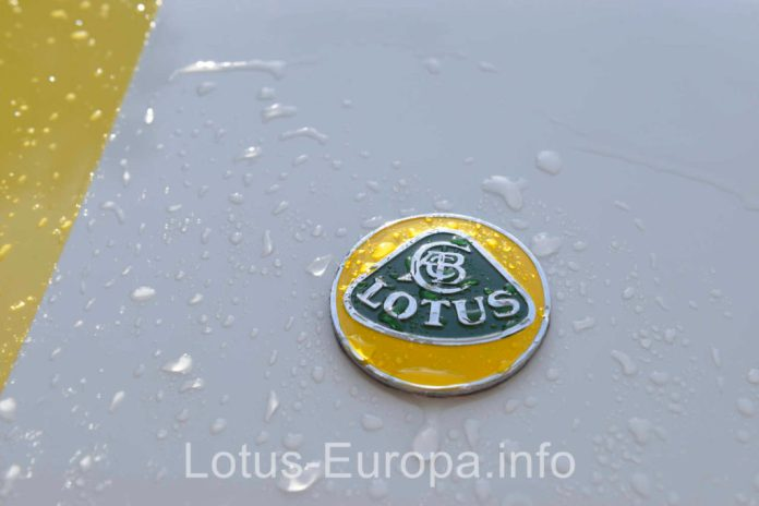 New Lotus badge