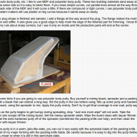 Producing fiberglass plugs, molds and finished parts