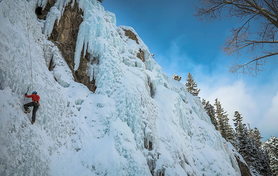 Ouray Ice Climbing