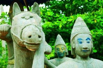 Taken at a Pagoda