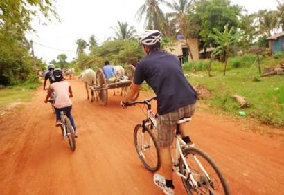 Biking in the Cambodian Countryside