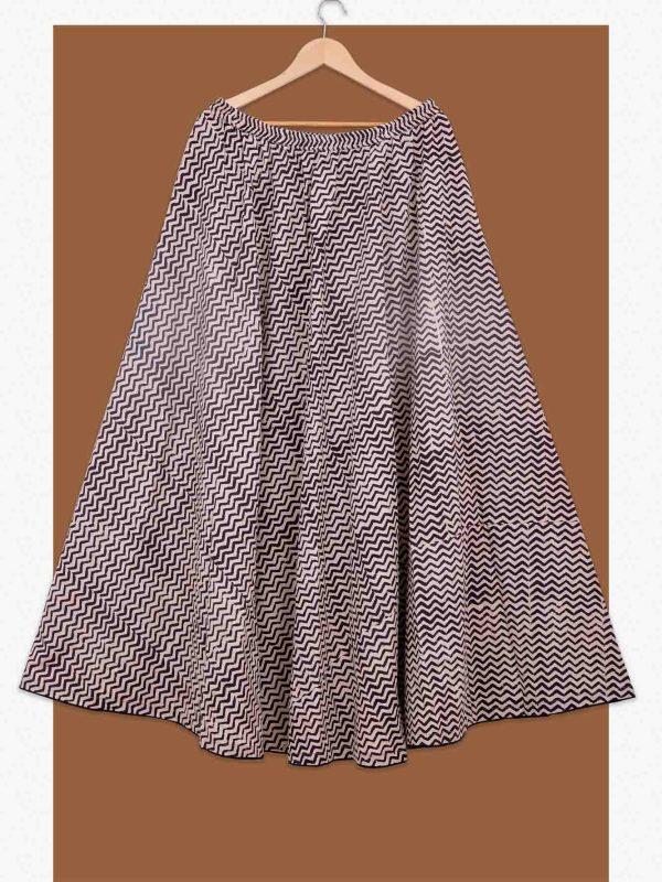 Cotton flared Skirt