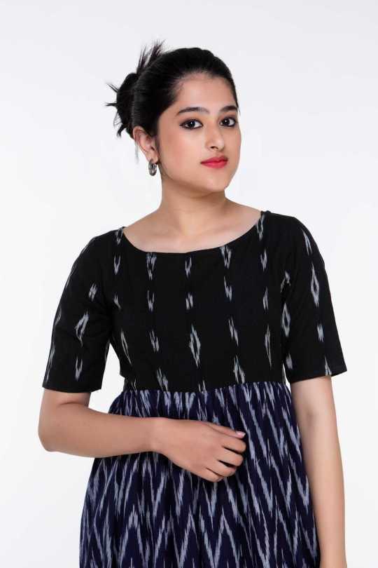 Black Ikat Dress