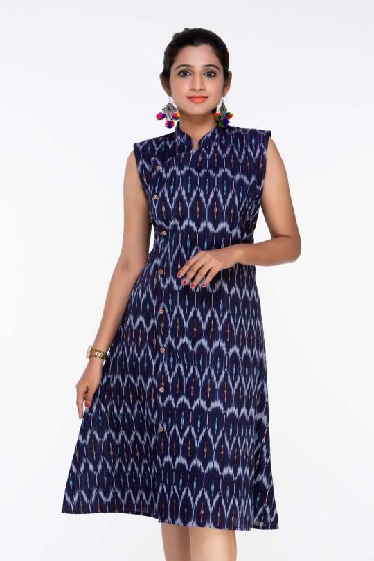 ikat dress designs