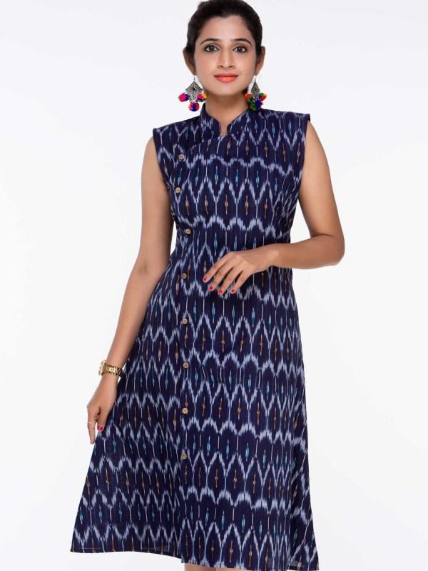 ikat dress designs