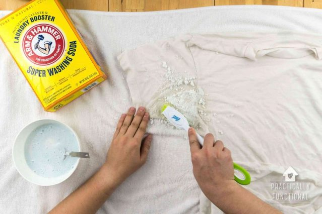 How to remove stain