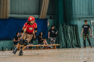 Lotus Photography Bournemouth Dorset Knobs Roller Derby Sports Phtoography 304