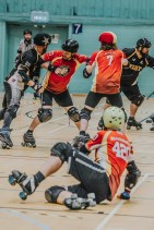 Lotus Photography Bournemouth Dorset Knobs Roller Derby Sports Phtoography 370