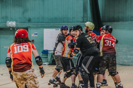 Lotus Photography Bournemouth Dorset Knobs Roller Derby Sports Phtoography 415