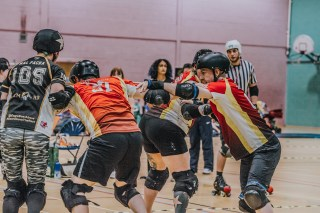 Lotus Photography Bournemouth Dorset Knobs Roller Derby Sports Phtoography 450