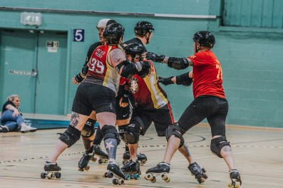 Lotus Photography Bournemouth Dorset Knobs Roller Derby Sports Phtoography 458