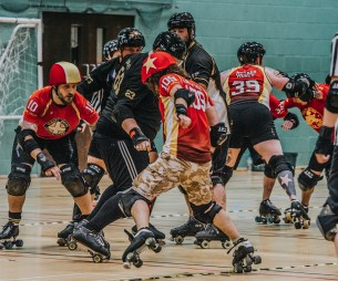 Lotus Photography Bournemouth Dorset Knobs Roller Derby Sports Phtoography 479