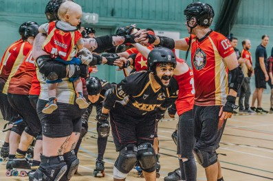 Lotus Photography Bournemouth Dorset Knobs Roller Derby Sports Phtoography 537