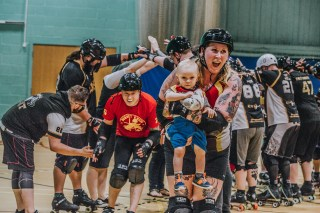 Lotus Photography Bournemouth Dorset Knobs Roller Derby Sports Phtoography 540