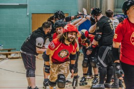 Lotus Photography Bournemouth Dorset Knobs Roller Derby Sports Phtoography 542