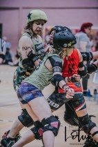 Lotus Phtotography Bournemouth Dorset Roller Girls Roller Derby Sport Photography 105