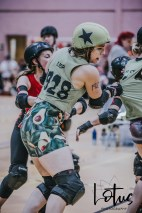 Lotus Phtotography Bournemouth Dorset Roller Girls Roller Derby Sport Photography 106