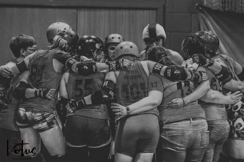 Lotus Phtotography Bournemouth Dorset Roller Girls Roller Derby Sport Photography 109-2