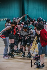 Lotus Phtotography Bournemouth Dorset Roller Girls Roller Derby Sport Photography 110
