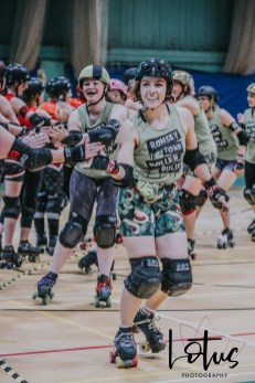 Lotus Phtotography Bournemouth Dorset Roller Girls Roller Derby Sport Photography 12